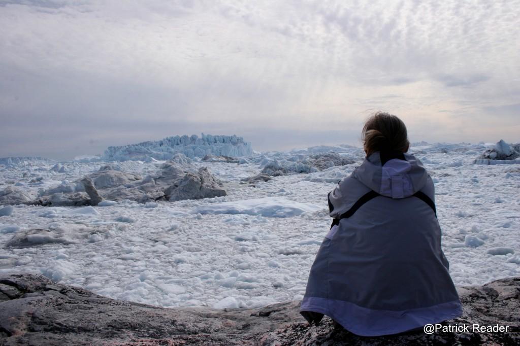 Bienvenue Panorama sur le spectaculaire Fjord de Ilulissat Kangerlua (Unesco) 2low