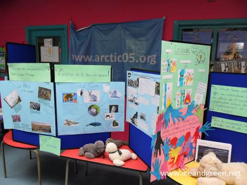 Ecole Hamme-Mille - Arctic05 International Polar Organisation - education