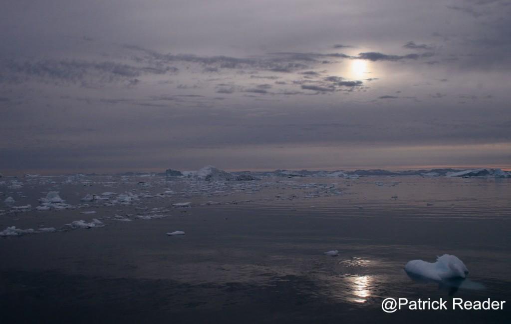 Ice floes in Ilulissat - Disko baylow