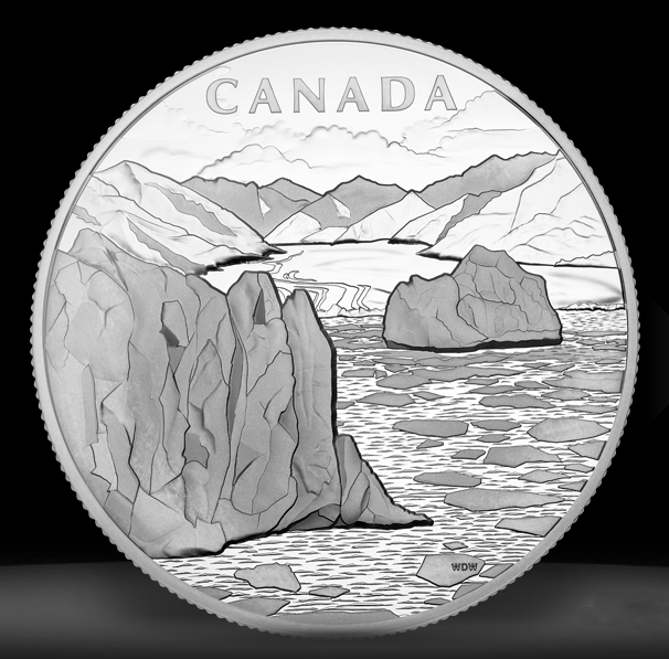 canada arctic landscape