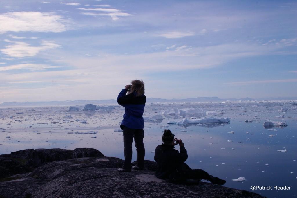 Vue sur la Baie de Disko -  Ilulissatlow