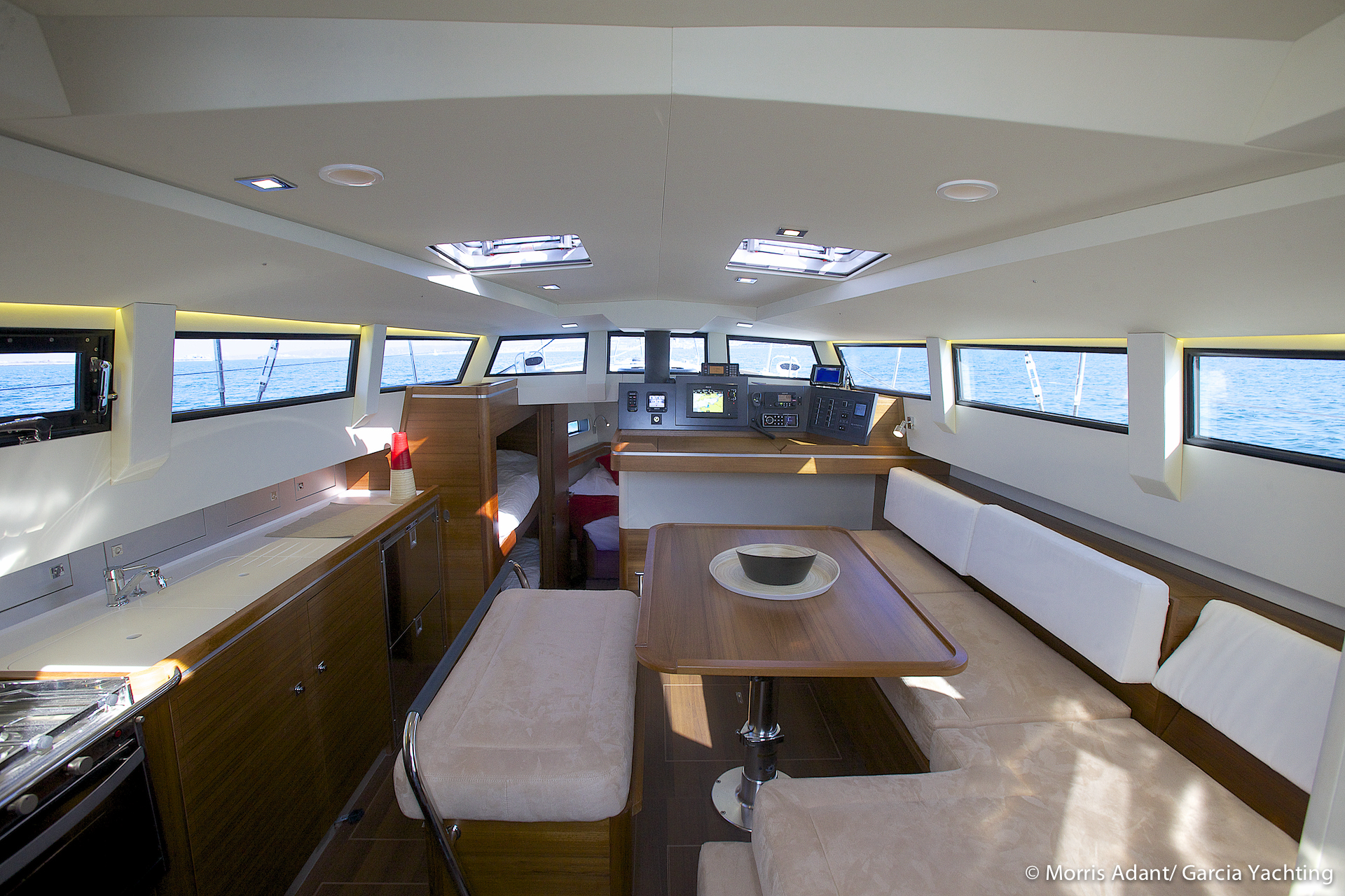 Garcia exploration 45 a new great sailing boat designed for Interieur 65