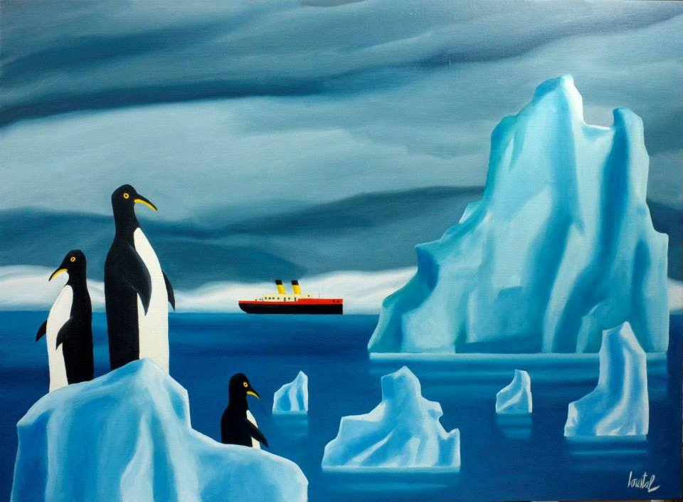 La Route des Icerbergs - antarctique - manchots - penguins