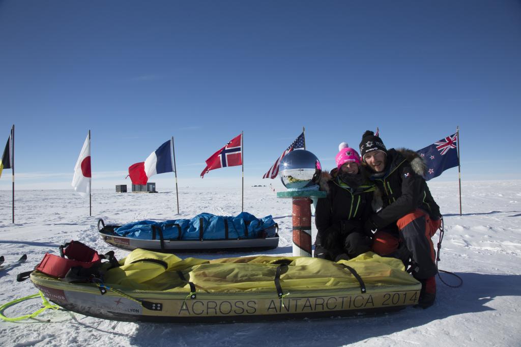Stéphanie et Jérémie Gicquel. antarctique. expédition à ski (1)