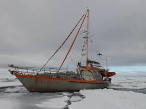 Une incroyable dérive en Arctique!