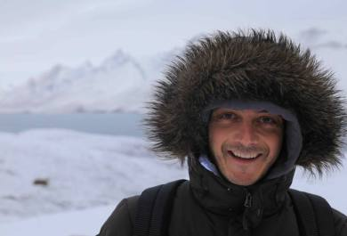 Víctor Manuel Gutiérrez-Ravé Bautista, 80 Norte, video Svalbard, a