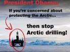 Greenpeace, save the arctic, President Obama, Alaska, USA, arctic 4 ever, shell, oil, arctic wildlife conservation, US President