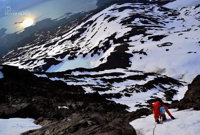 Olivier Fichou, alpinisme, Millet Expedition Project, Manon Wolanski,  Alpes Norvégiennes de Lyngen, cercle arctique, norvège, glaciers et montagnes en norvège, norway, tromso, norway picture (15)