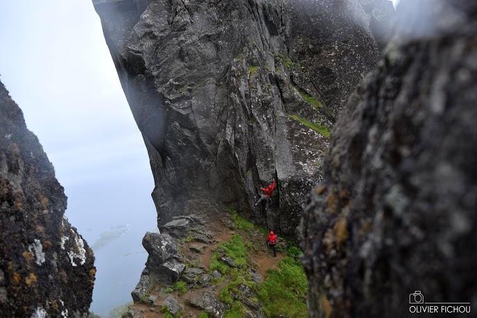 Olivier Fichou, alpinisme, Millet Expedition Project, Manon Wolanski,  Alpes Norvégiennes de Lyngen, cercle arctique, norvège, glaciers et montagnes en norvège, norway, tromso, norway picture (5)
