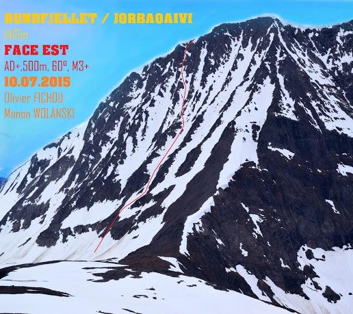 Olivier Fichou, alpinisme, Millet Expedition Project, Manon Wolanski,  Alpes Norvégiennes de Lyngen, cercle arctique, norvège, glaciers et montagnes en norvège, norway, tromso, norway picture (7)