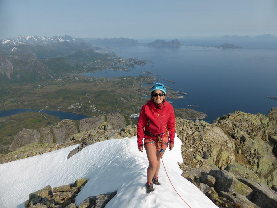 Olivier Fichou, alpinisme, Millet Expedition Project, Manon Wolanski,  Alpes Norvégiennes de Lyngen, cercle arctique, norvège, glaciers et montagnes en norvège, norway, tromso, norway picture, norwegian alps