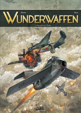 Wunderwaffen tome 2 - aux portes de l'enfer, BD, Antarctique, bande dessinée, cartoon, German, SS, banquise, neige, achtung, avion de guerre,