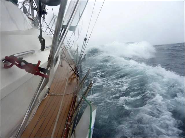 Aventura, cornell sailing, Garcia Yachting, Arctic, Sailing the Northwest Passage, Jimmy Cornell, Exploration 45 aluminium boat, greenland sailing