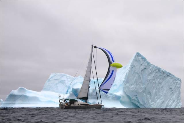 Aventura, cornell sailing, Nuuk, Garcia Yachting, Arctic, Sailing the Northwest Passage, Jimmy Cornell, Exploration 45 aluminium boat, greenland sailing, voilier