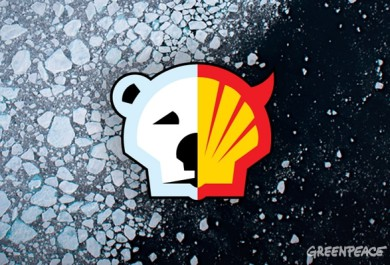 greenpeace, save the arctic, alaska oil drilling, save polar bears, chukchi sea and oil, arctic news, arctic & widlife conservation, Shell, Royal Dutch Shell