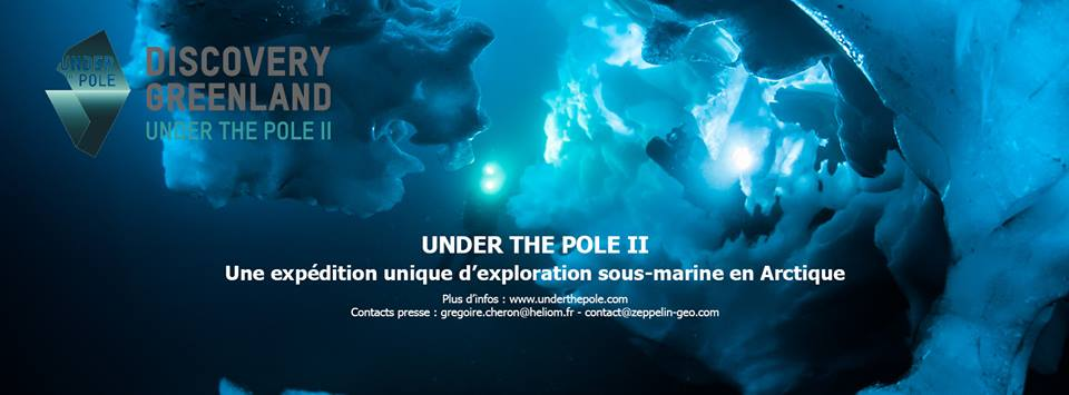 under the pole, arctic news, diving in the arctic, greenland, plongée au groenland, underwater exploration, expédition polaire sous-marine