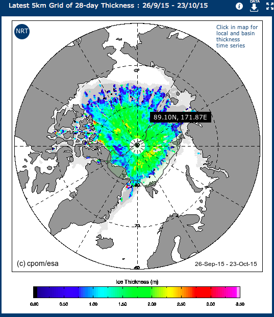 Arctic Sea Ice Thickness Maps, CryoSat, climate change, arctic05 news, arctic news, arctic ocean, pack ice, north pole, ice in the arctique, la banquise, le grand nord, l'océan arctique