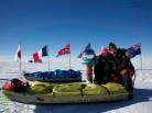 Stéphanie et Jérémie Gicquel, Across Antarctica, south Pole, Pôle Sud, ski en Antarctique, 6ème continent, Arctic05, expédition polaire, avocats parisien, la France, station polaire française, climate change