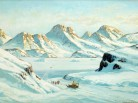 Emmanuel A. Petersen, greenland paintings, arctic05, brafa art fair, brafa bruxelles, peintures du groenland, danish paintings, Inuit, icebergs, grand nord