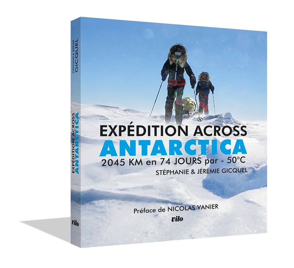 Expédition Across Antarctica, Runners to the Pole, Stéphanie et Jérémie Gicquel, COP 21, film d'aventure, Antarctique, Arctic05, ski et pulka, écoles et climat
