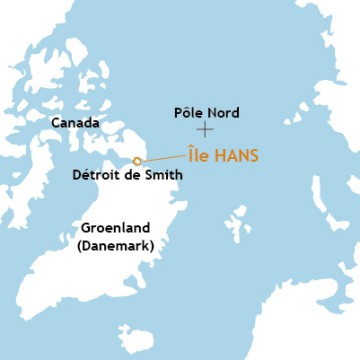 île Hans, Hans Island, canada, denmark, navigation polaire, terre nullius, arctic05, patrimoine universelle, climate change, glaces, groenland, océan arctique, ours, ONU