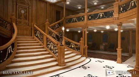 Blue Star Line, Titanic 2, Clive Palmer, Australia, Terre-Neuve, iceberg, arctic05, North Atlantic, atlantique nord, the titanic, leonardi dicaprio, southampton, new-york, art déco