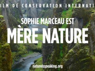 Sophie Marceau, nature speaking, nature conservation, Mère Nature, arctic05, protection de l'environnement, washington, prise de conscience, la banquise, le climat, les réfugiés