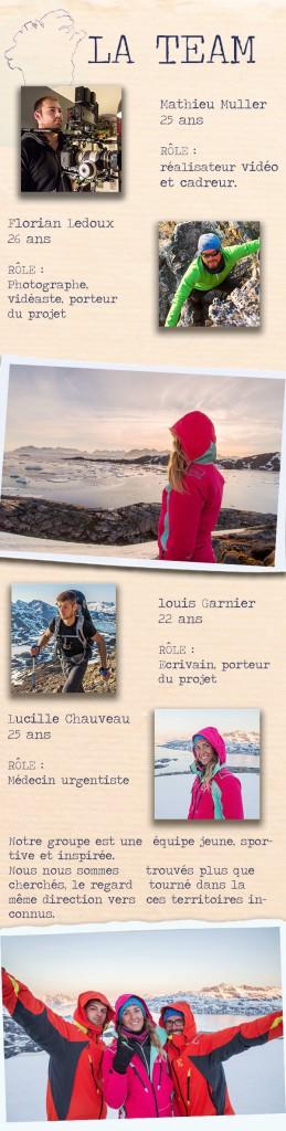 Wildlanders, Groenland, Crowdfunding, arctic05, Lucille Chauveau, Louis Garnier,Mathieu Muller,Florian Ledoux