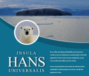 Devenez propriétaire de l'île Hans!