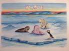Nanouk, baby girl name, Bienvenida Nanouk Reader, Arctic05, Inuit, girls name, prénom fille, ours polaire, 欢迎,polar bear, arctic4ever, ice, seal, puffin, nature