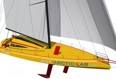 Yacht - Open60 AAL, norbert sedlacek, ant-arctic-lab, arctic ocean, arctic05, voyage around antarctica, voile en régions polaires, skipper, océan arctique, sailing south pole, sustainable and recycable materials