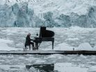 Greenpeace, Ludovico Einaudi, Elegy for the Arctic, Svalbard, Arctic protection, Isfjorden, Wahlenbergbreen, glacier, pack-ice, climate change, Nature, Save the arctic, polar bears
