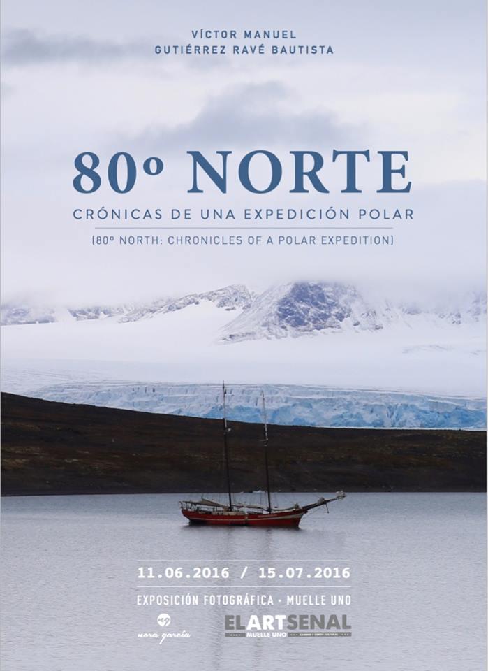 Víctor Manuel Gutiérrez-Ravé Bautista, 80° Norte, Svalbard, elartsenal, exposicion fotografica, malaga, spitsbergen, polar bear, arctic05, spain