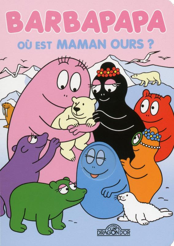 Barbapapa, Où est maman ours?, ours polaire, arctique, phoque, banquise, arctic05, enfants, livre polaire, éducation, maman et papa, les animaux de l'arctique, polar bear, écoles