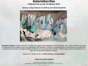 Jacqueline pruijsers - de bruin, galgerritse, icebergs painting, Artist, arctic05, painting exhibition, Middelburg, schilderij, polar bear, kunst & cultuur, Netherlands, pack-ice