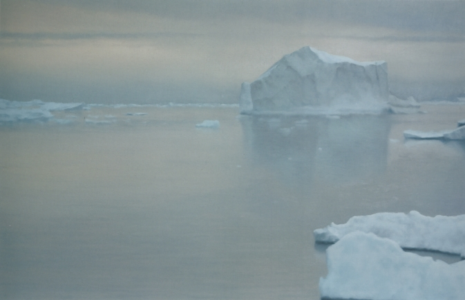 Gerhard Richter, Icebergs painting, peinture de glaces, Arctic05, Sotheby's, From Contemporary Art Evening Auction, vente publique, peinture chez Sotheby's London, Germany, quel prix pour une peinture