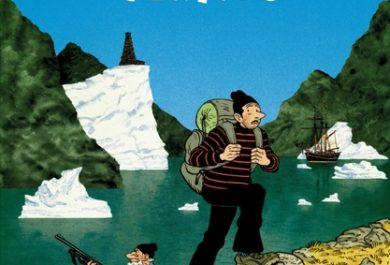 Groenland Vertigo, BD, bande dessinée, Hervé Tanquerelle, éditions Casterman, arctic05, foire du livre, iceberg, fjord, aventure polaire, grand nord, carnet de voyage