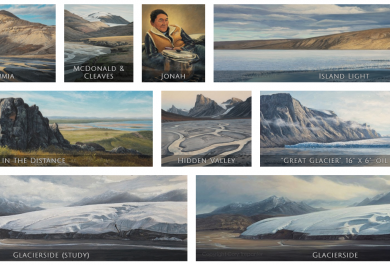 Cory Trépanier, INTO THE ARCTIC exhibition, breathtaking paintings, Arctic05, Canada, Northwest passage, Nunavut, photos of the Arctic, Canadian artist, Arctic wildlife and landscape, Nunavut