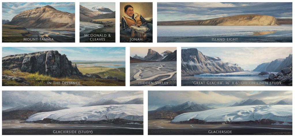 Cory Trépanier, INTO THE ARCTIC, inuit, nunavut, canada, Arctic05, peintures, photographie polaire, paysages du Grand Nord, glacier, iceberg