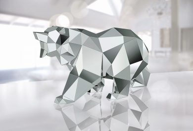 L'Ours par Arran Gregory, Swarovski-Bear-by-Arran-Gregory-the arctic, scupture d'animaux, design, arctic05, ours polaire, ice bear, prédateur, the king of the arctic, beautiful Art, jewellery