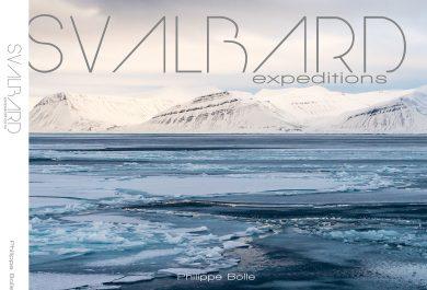 Livre Svalbard Expeditions, Philippe Bolle, photographie du Svalbard, Arctic05, images polaires de la norvège, Spitzbergen, front glacier, glace et mer, photos de l'arctique norvégien