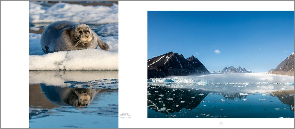 Philippe Bolle, paysage du Svalbard, ouvrage polaire Svalbard Expditions, Arctic05