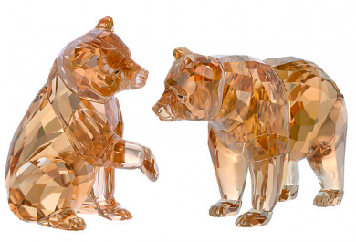 Swarovski, Bear cubs,jewellery, crystal decoration, brown bear, arctic05, the arctic tundra, Martin Zendron, décoration d'intérieur, plantigrade, les ours bruns, bébé ours