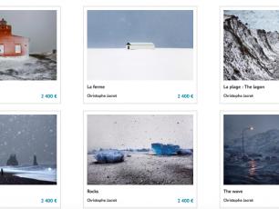 Islande, photographie, l'hiver islandais par Christophe Jacrot, Arctic05, Artistics, achat en ligne