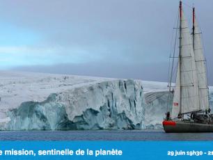 Tara expéditions, espace des mondes polaires, Arctic05, projet polaire, science, voile, projet Damocles, climat
