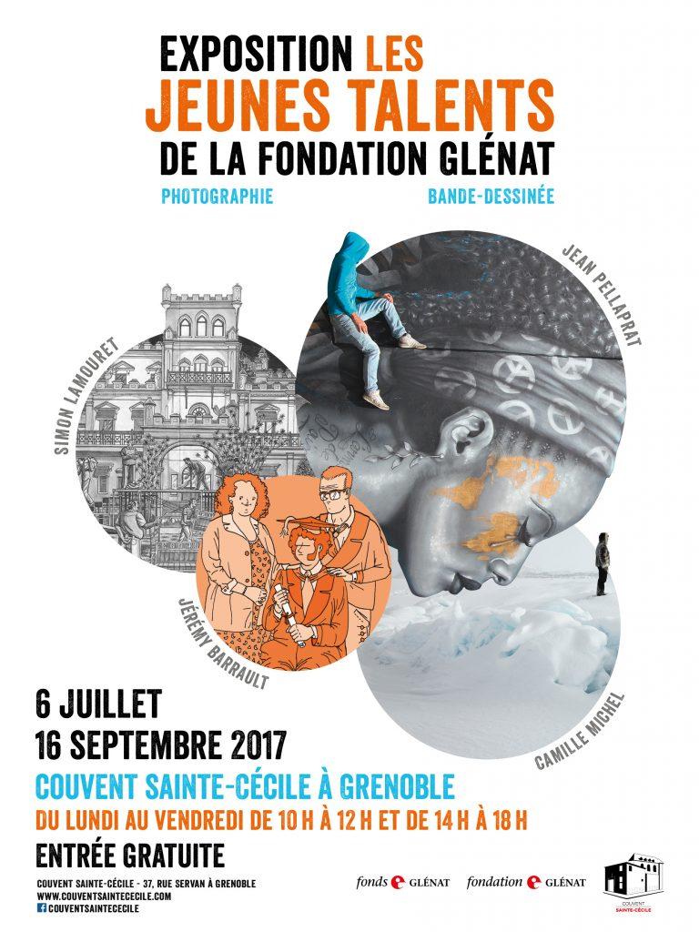 AFFICHE-EXPO-JEUNES-TALENTS-2017, couvent sainte-cécile de Grenoble, Groenland, Inuit, Arctic05, photographie, Camille Michel, grand nord, pêcheurs