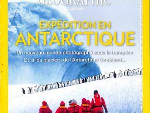 National Geographic, expédition Antarctique, glacier, banquise, calotte glaciaire, Arctic05, crevasse, manchot, pôle sud, magazine, changement climatique, soleil