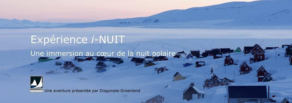 Expérience i-NUIT, Groenland, Ittoqqortoormiit, immersion polaire, nuit polaire, Grand Nord, Dominique S, Arctic05, Diagonale-Groenland, aventure polaire, froid, neige, magie, mystère, découverte arctique
