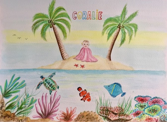 Coralie Reader, coral reef, charms of marine waters, Arctic ocean, Arctic05, Baby names, the Big blue, birth, aqua, Nature, green, dolphin, turtle, energy, peace