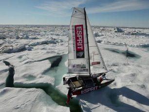 La voie du pôle, Esprit, banquise, expédition polaire, pôle nord, océan arctique, Arctic05, voile, glace, ours, défi, navigation, grand nord, mer, challenge humain et sportif, bateau